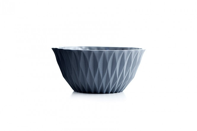 Sparkle Bowl in Ash Grey