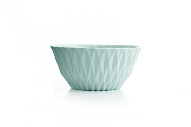 Sparkle Bowl in Faded Mint