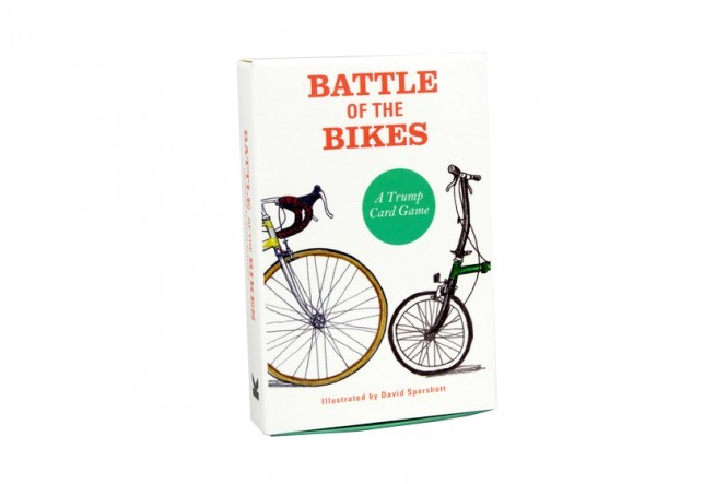 Battle of the Bikes Trump Cards