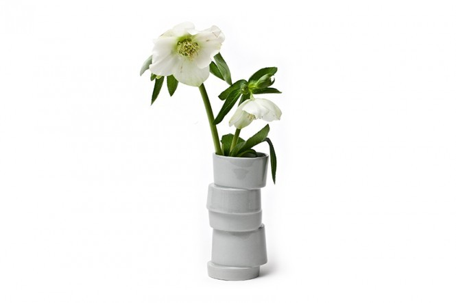 + Lars Rank Tall Stacked Vase