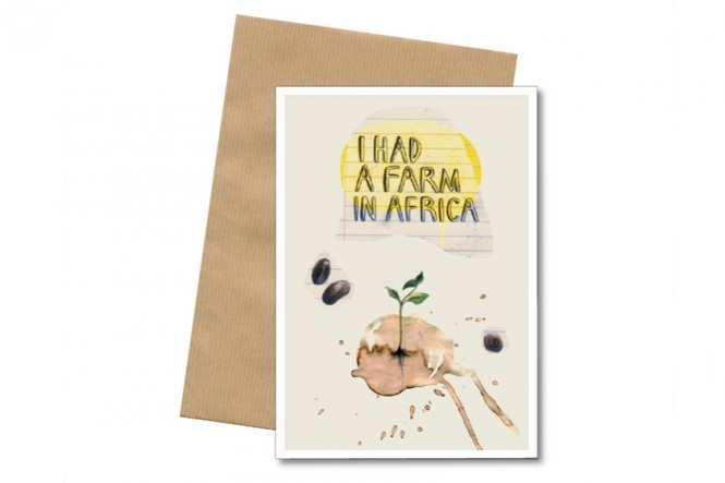 Farm in Africa Art Cards