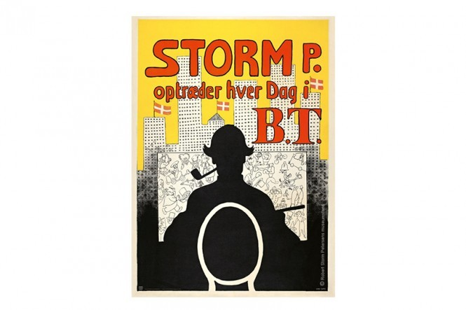 Storm P Appears Everyday in BT Poster