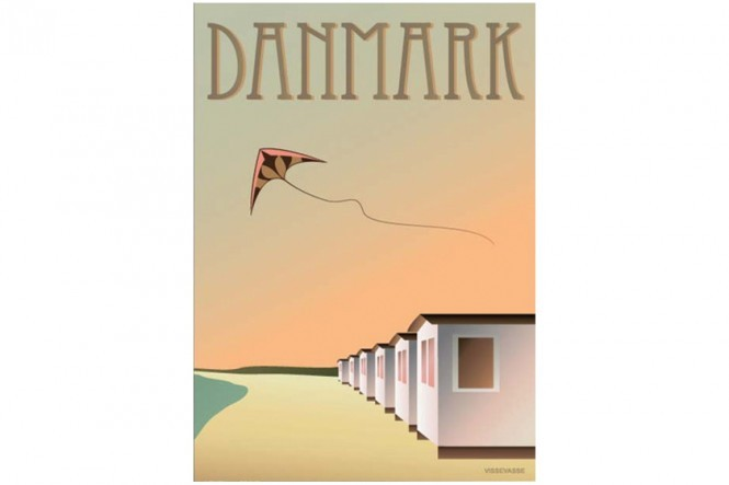 The Beach Hub Poster – Denmark