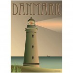The Lighthouse Poster - Denmark