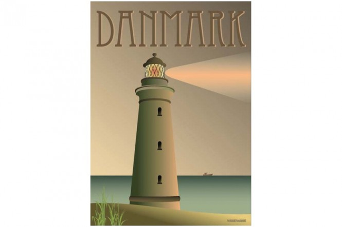 The Lighthouse Poster – Denmark
