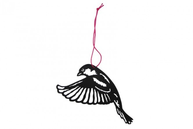 Lasercut House Sparrow #4 Decoration