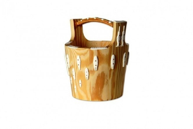 Decorative Greenlandic Water Bucket