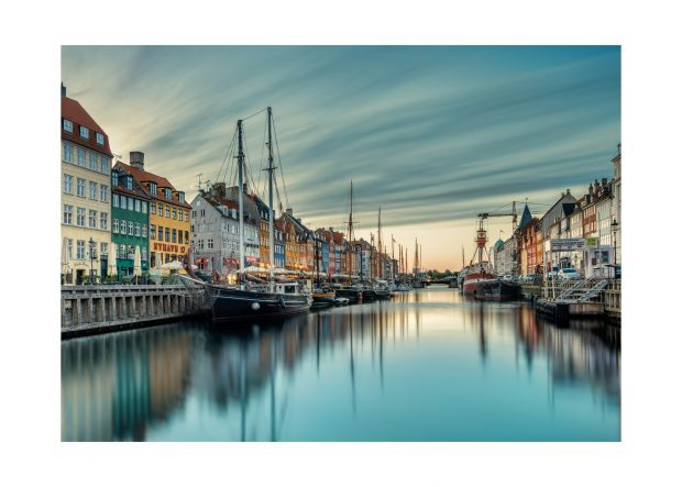 Nyhavn in the Morning – Art Print