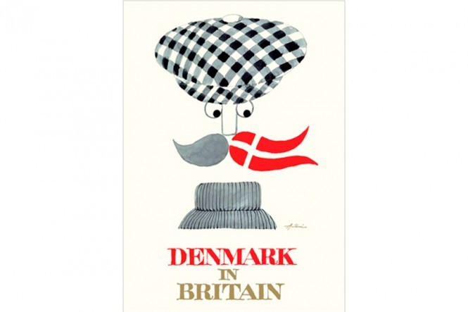 Ib Antoni – Denmark in Britain Sixpence Poster