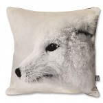 Arctic Fox Pillow Case Small