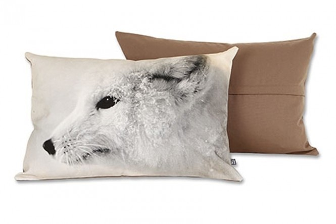 Arctic Fox Pillow Case Medium