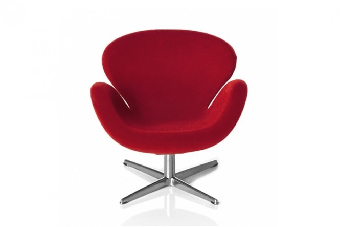 Arne Jacobsen Miniature Swan Chair