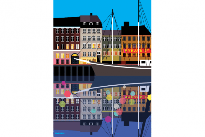 Emma Sivell – Nyhavn at Night