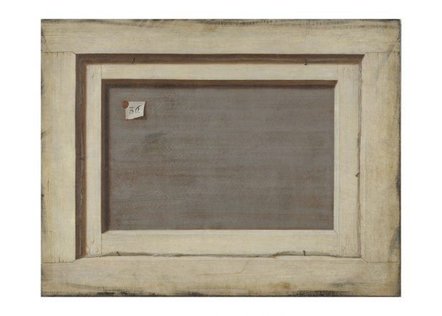 Trompe L'oeil. The Reverse of a Framed Painting