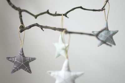Soft Star Ornaments