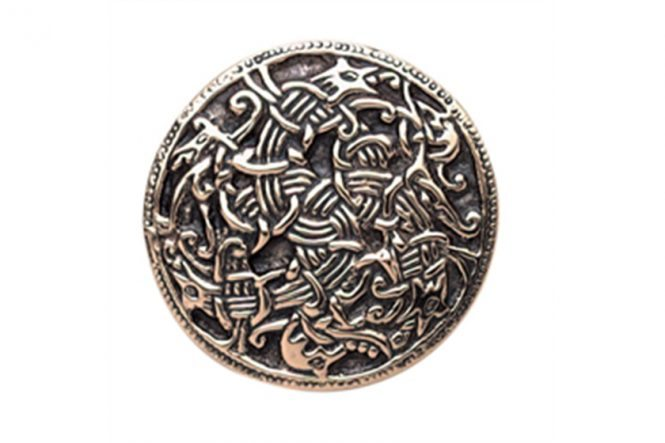 "Viking ""Ringerike"" style Brooch from Norway"