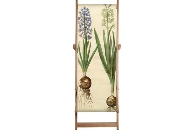 Gottorfer Codex Deckchairs – Hyacinth
