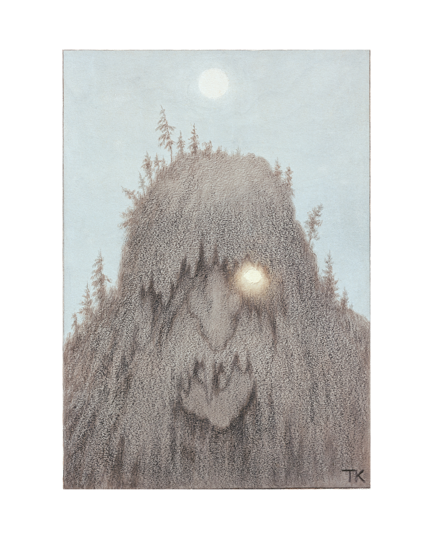 Forest Troll – Art Print