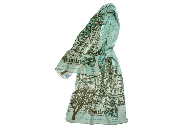 Hamlet Scarf with Kronborg Castle