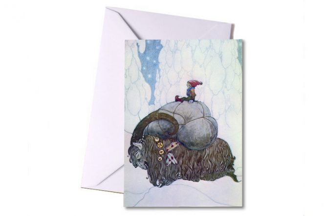 Julbocken – Christmas 8 Pack Art Cards